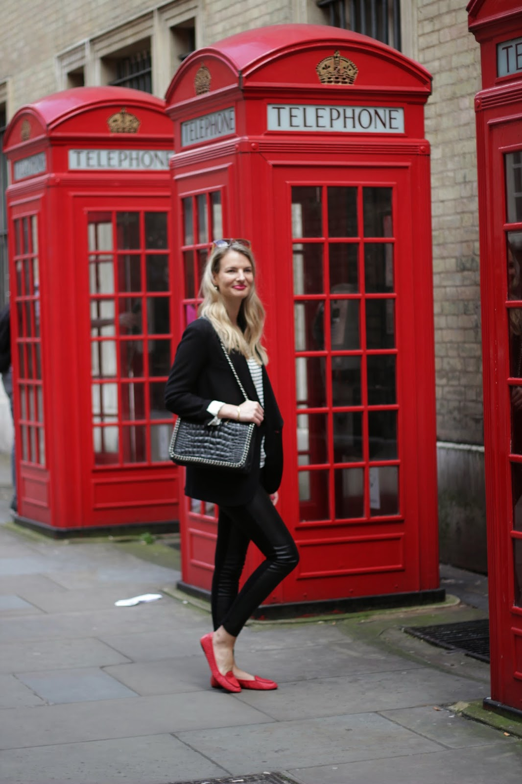 cocorose london, ballet flats, red shoes, red ballet slippers, loafers, red loafers, zara bag, zara look book, isabel marant pour h&m