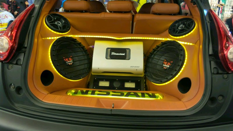 Modifikasi Audio Nissan Juke
