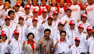 Kontingen Olimpiade Indonesia Bertolak ke London