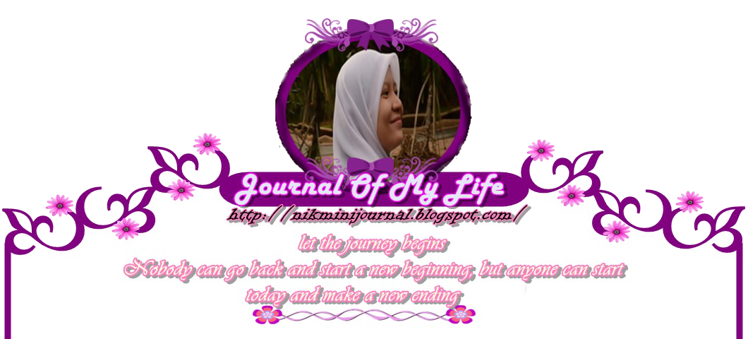 ❤ Journal of my life ❤