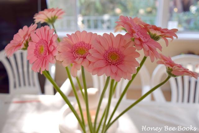 beautiful pink gerberas