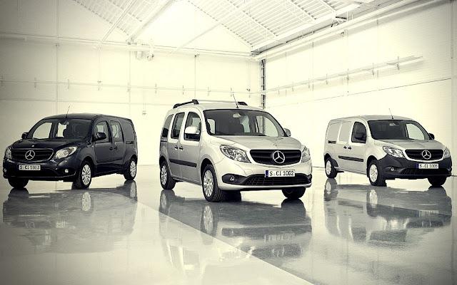 Mercedes Citan já à venda na Europa
