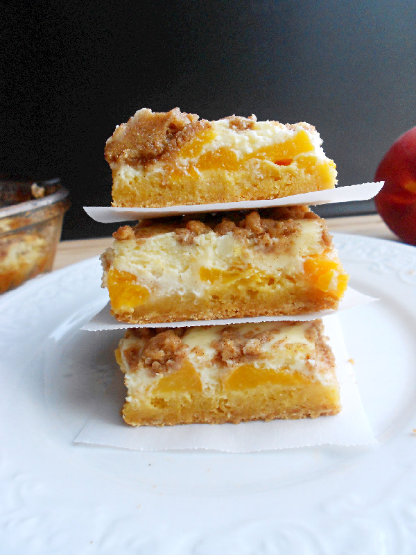 Peaches and Cream Bars - Confessions of a Confectionista