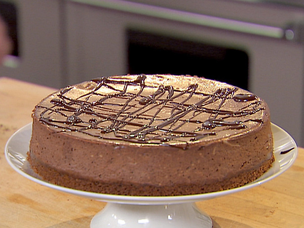 Food Recipes: Chocolate Espresso Cheesecake with Ganache