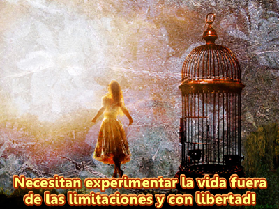 Ya aprendiste que cuando te aferras a las limitaciones, conservas a lo que coarta tu libertad.
