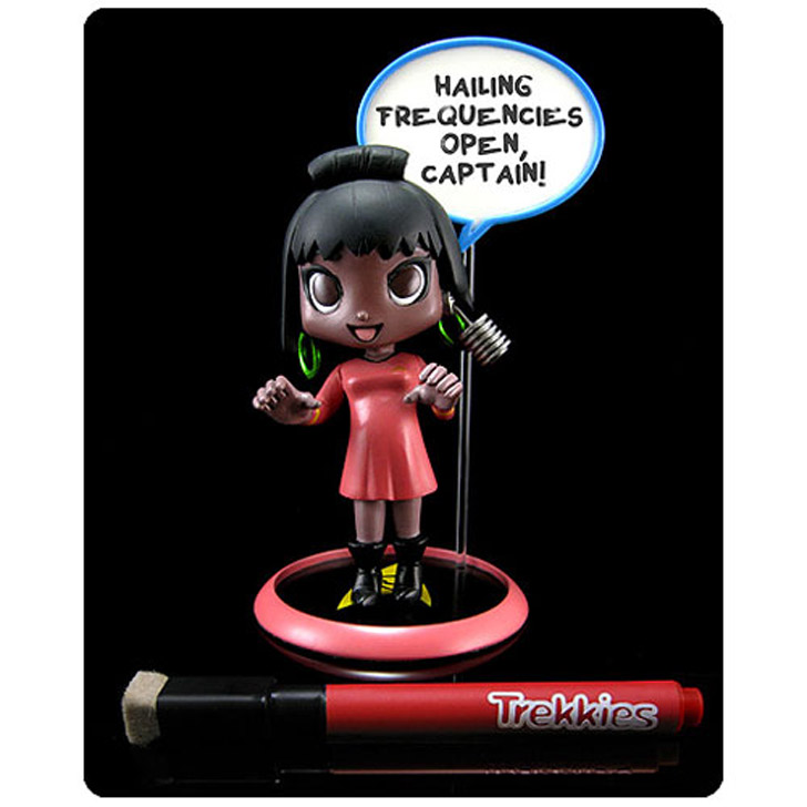 Star Trek Trekkies Nyota Uhura Q-Pop Vinyl Figure Review By Justin Woodie
