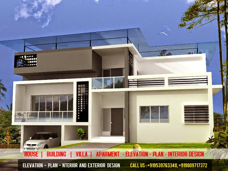 3d elevation plan designer 3d power elevation cochin Designer house