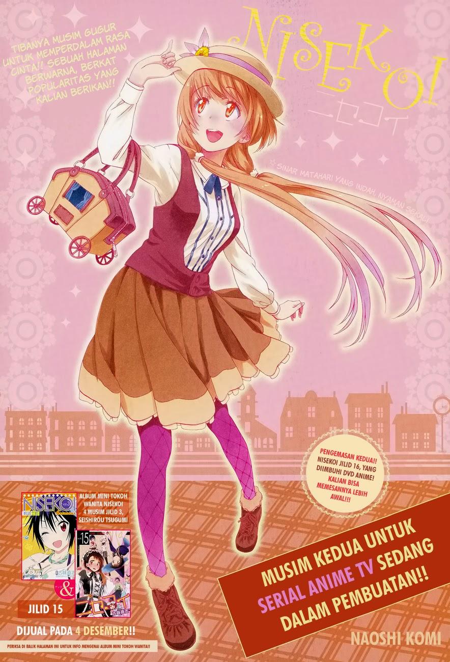 Komik nisekoi 148 - pewaris 149 Indonesia nisekoi 148 - pewaris Terbaru 1|Baca Manga Komik Indonesia|