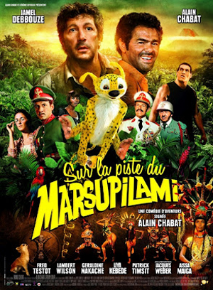 Theo Dấu Marsupilami HOUBA! On the Trail of the Marsupilami