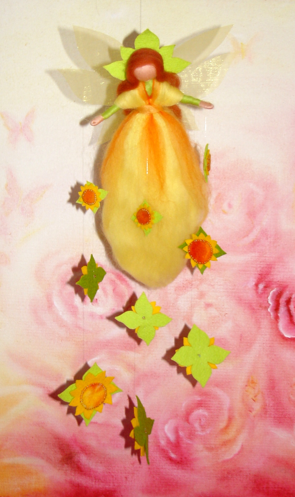 R ves en laine les f es des fleurs roses et tournesols for L univers de la laine