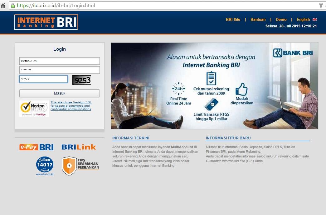 Cara Mudah Aktivasi Internet Banking BRI Versi Mobile di ...