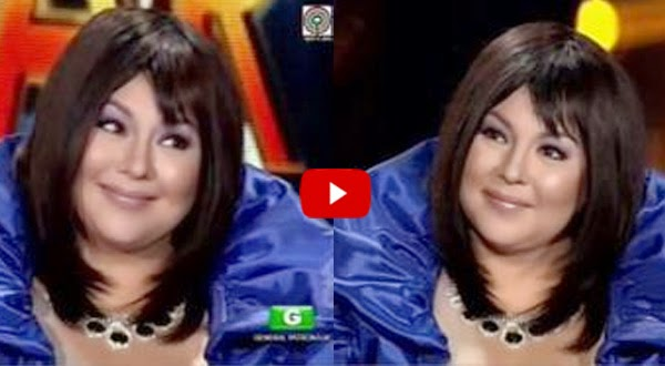 Karla Estrada mimics Sharon Cuneta in That Face Sounds Familiar