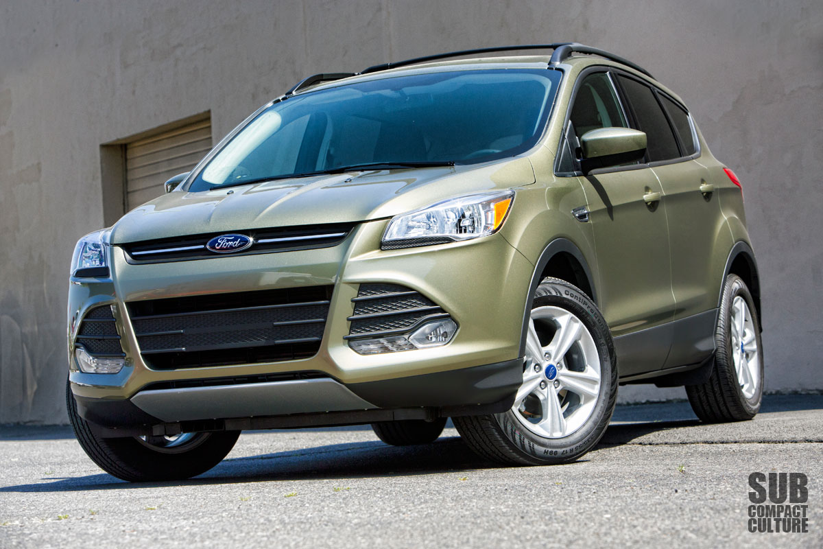 review 2013 ford escape se subcompact culture the small car blog. Black Bedroom Furniture Sets. Home Design Ideas