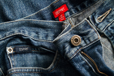 A photograph of a pair of Jeans
