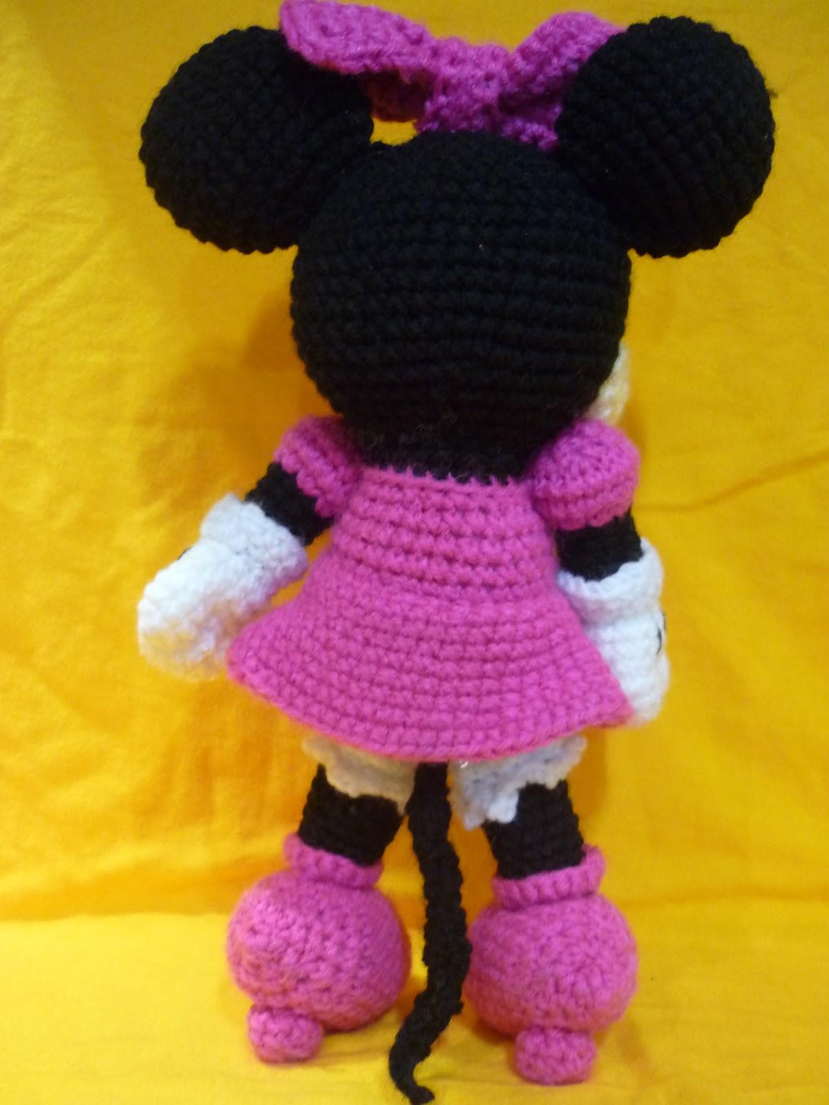 Amigurumi Munecos Disney : Tejiendo Suenos: Minnie Amigurumi crochet + Patron
