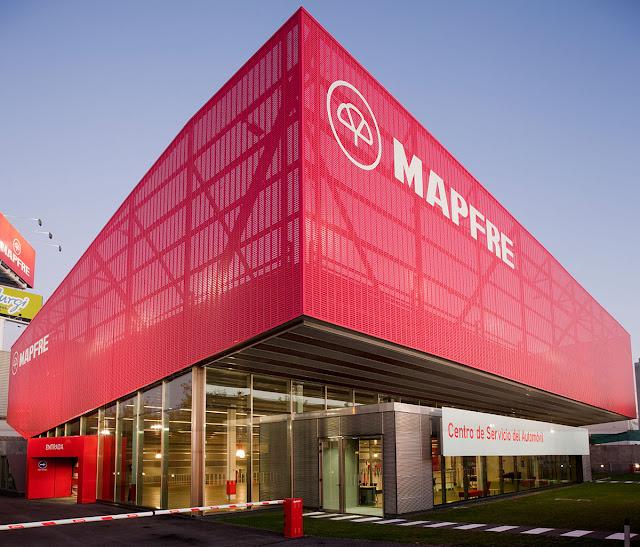 Centro de servicio del automovil Mapfre, Arquitectura Singular, Arquitectura Industrial, Arquitectos en Madrid