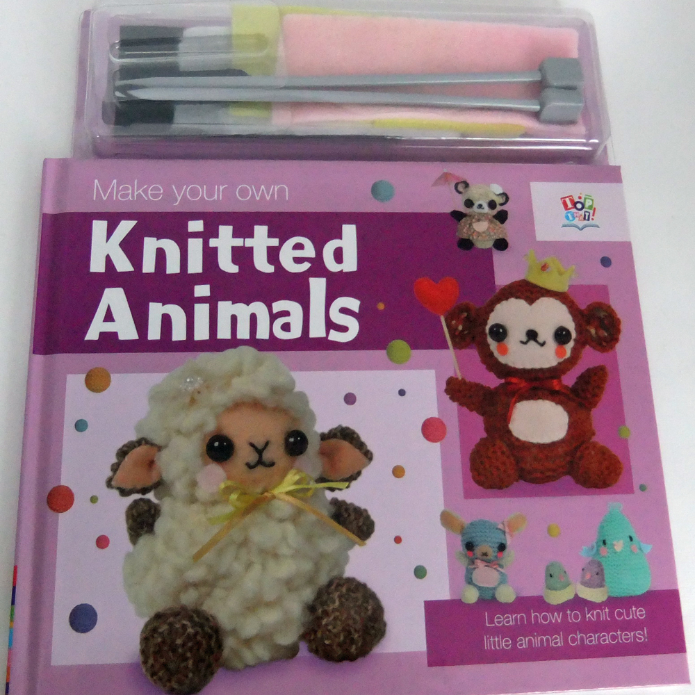 Knitting Animals Book : So much yarn little time knitting book review make