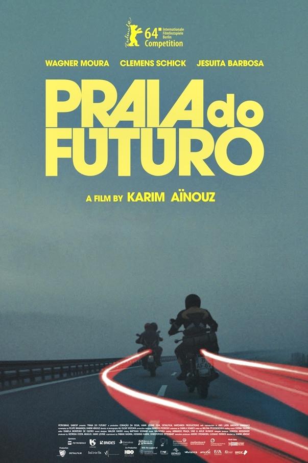 Praia do futuro, póster