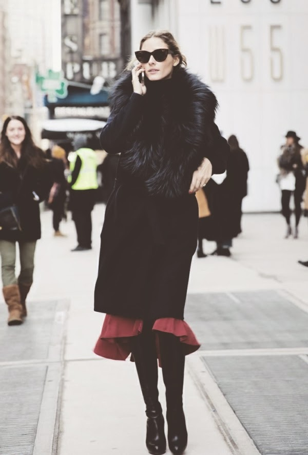 {style inspiration : olivia palermo at fashion week 2014}