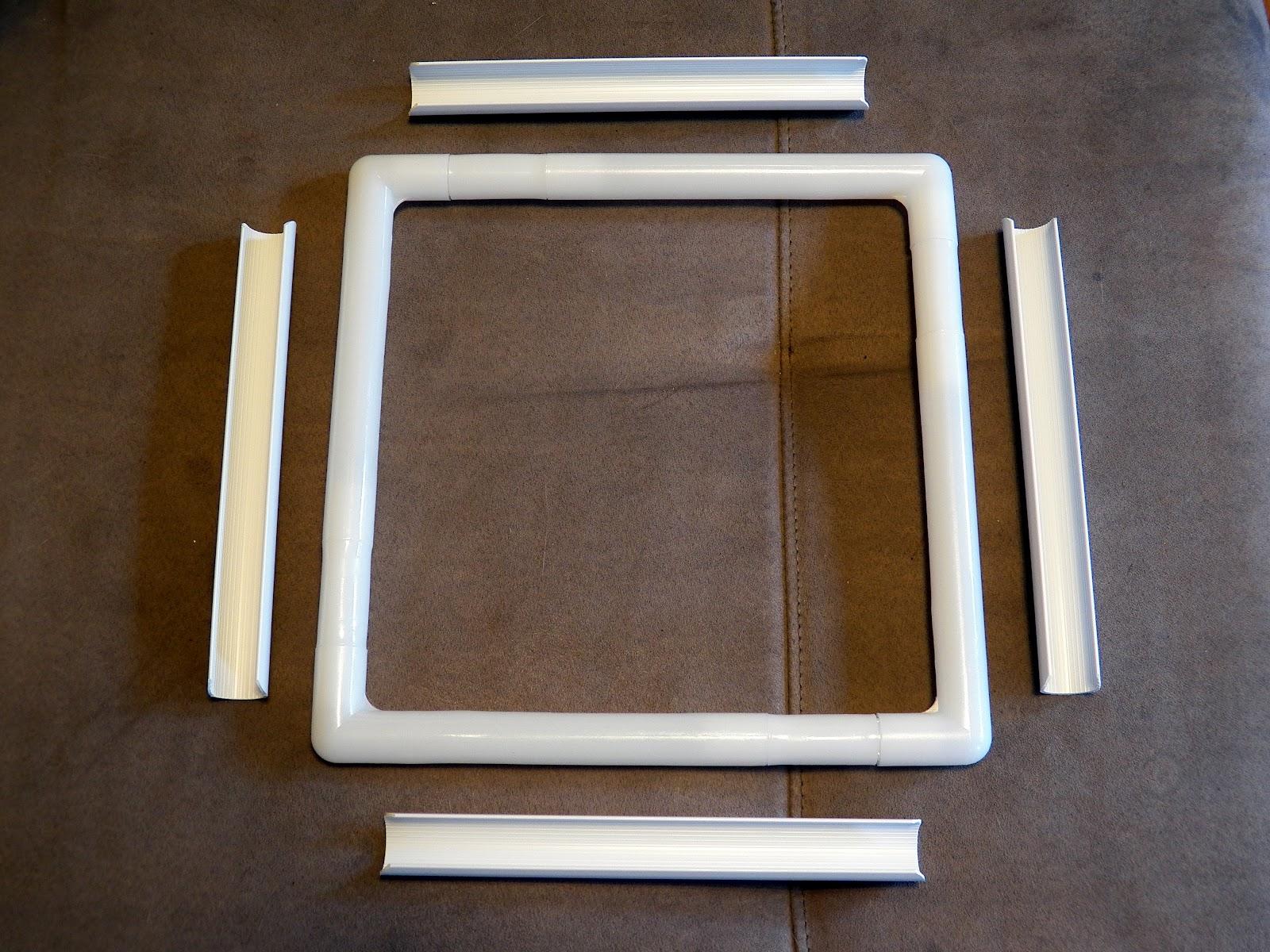 Less bitching more stitching a cross stitch blog featuring 11 q snap frame assembled jeuxipadfo Images