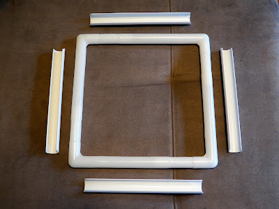 "11"" Q-Snap frame, assembled"