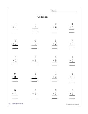 Free Printable Kindergarten Worksheets, Free Worksheets, Kids Maths Worksheets, Maths Worksheets, Kindergarten Addition, Addition, Kindergarten, Kids Addition Sheets