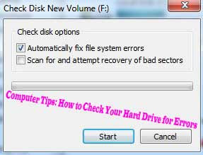 Computer Tips: How to Check Your Hard Drive for Errors