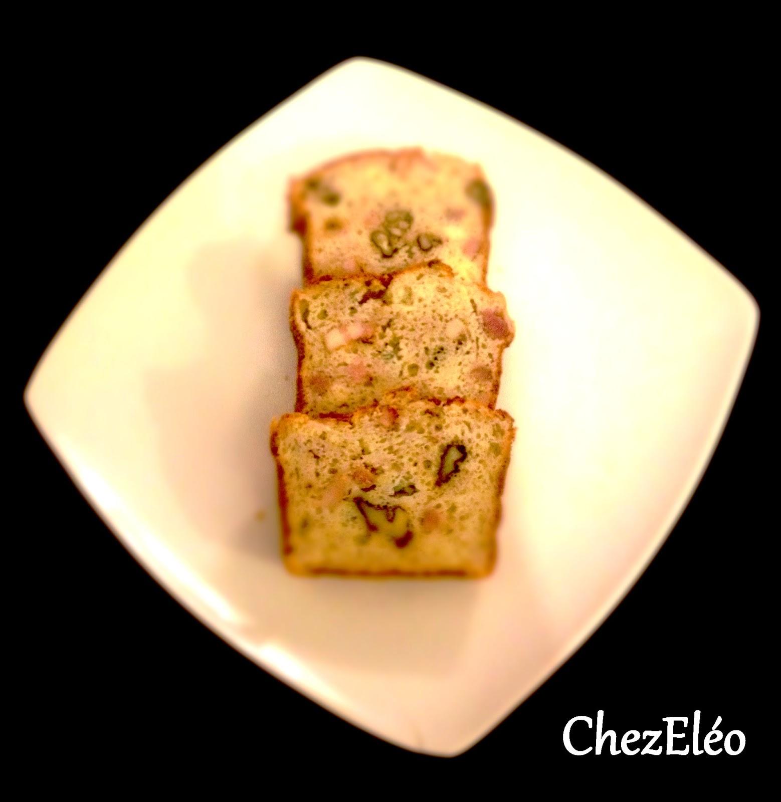 Cake Roquefort Lardons Noix