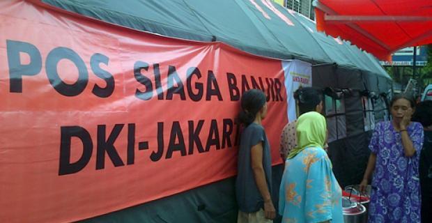 Update Posko Banjir Jakarta