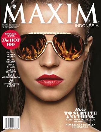 MAXIM Indonesia Agustus 2014 : Special Issue The Hot 100 Women MAXIM
