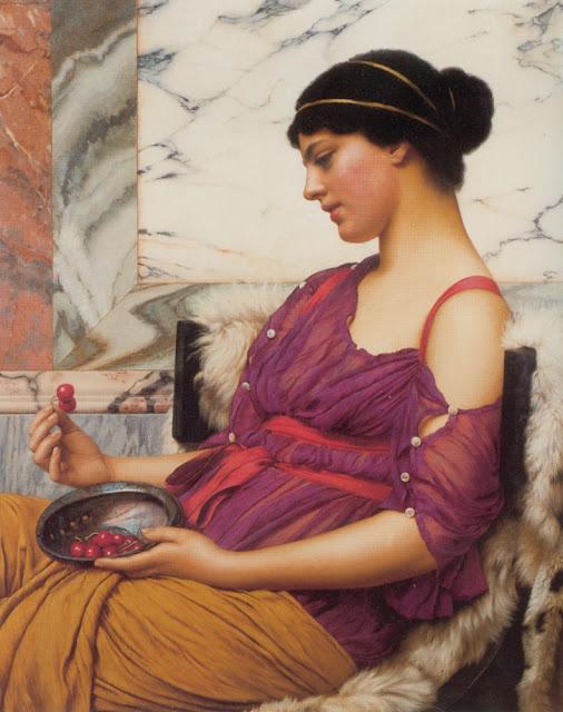 godward ismenia painting