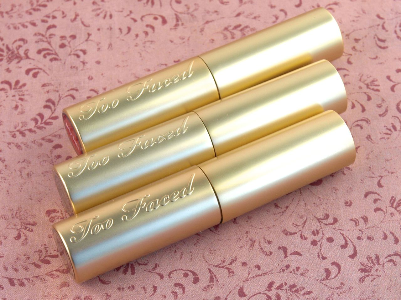 Too Faced La Creme Lip Cream Review and Swatches