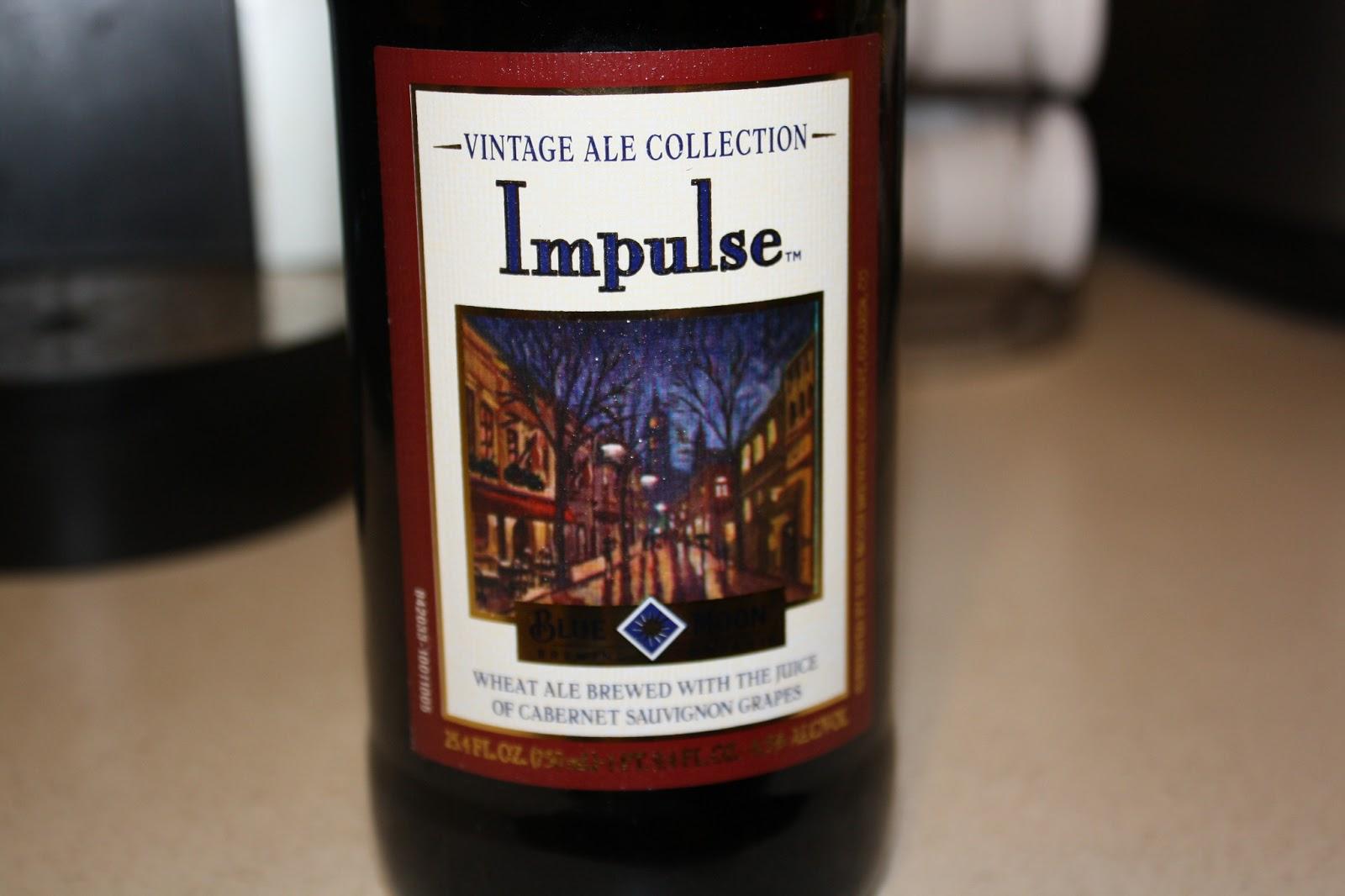 Blue Moon Impulse, Vintage Ale Collection