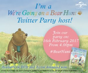 We're Going On A Bear Hunt twitter party