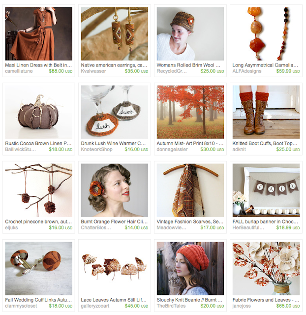 October Gift Guide on Etsy #fall #autumn #october #pumpkin