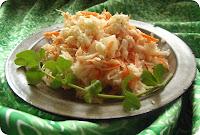 Amerykańska sałatka z kapusty i marchewki - Coleslaw