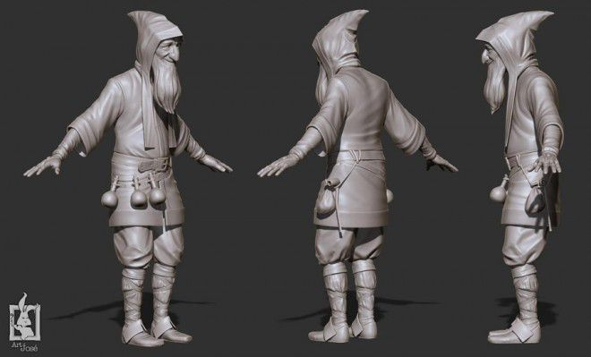Beautiful 3d character model designs for your inspiration cgfrog 3d character model design jose alves9 malvernweather Images