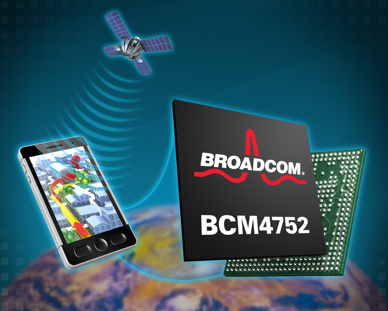 broadcom introduces new gps chip offering a platform for. Black Bedroom Furniture Sets. Home Design Ideas