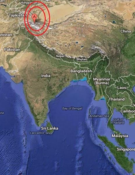 Magnitude 4.4 Earthquake of Barishal, Pakistan 2014-09-09
