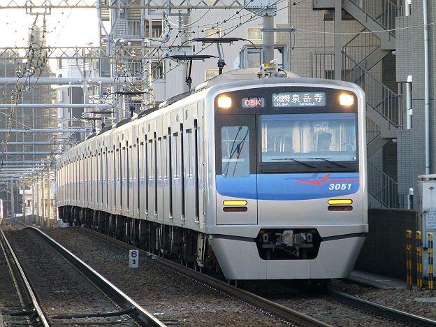 京浜急行電鉄 緑のエアポート快特 泉岳寺行き 3050形