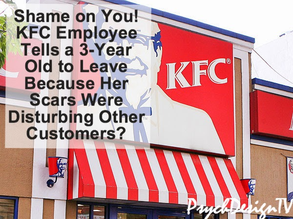 You Should Be Ashamed! KFC Turns Away a 3-Year Old Girl Who Was Mauled By Pitbulls!