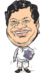 Minister Bandula goonawaradana