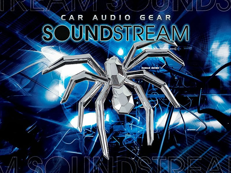 Som automotivo Soundstream