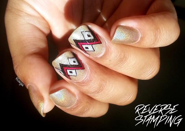 Reverse stamping Qgirl-033