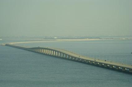 صورة جسر الملك فهد Chaussée du Roi Fahd Arabie Saoudite