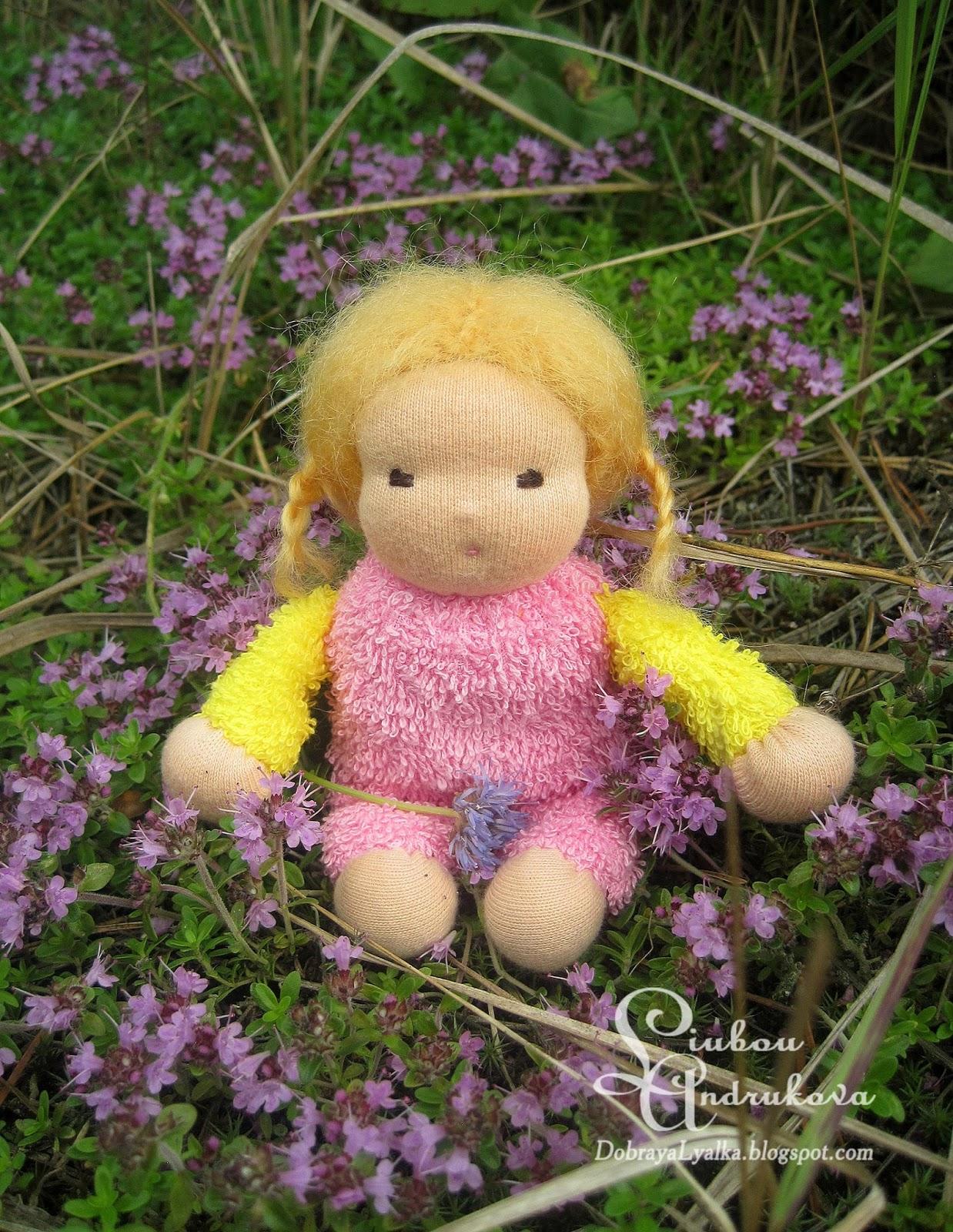 вальдоряская кукла-малышка для девочки