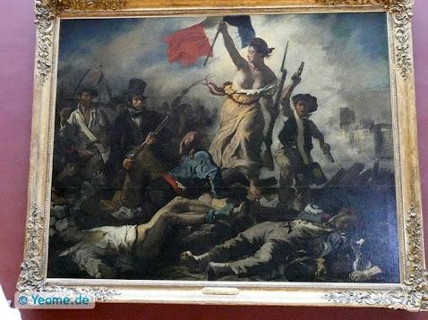 """""""La Liberté guidant le Peuple"""" Eugène Delacroix (1798 -1863)"""