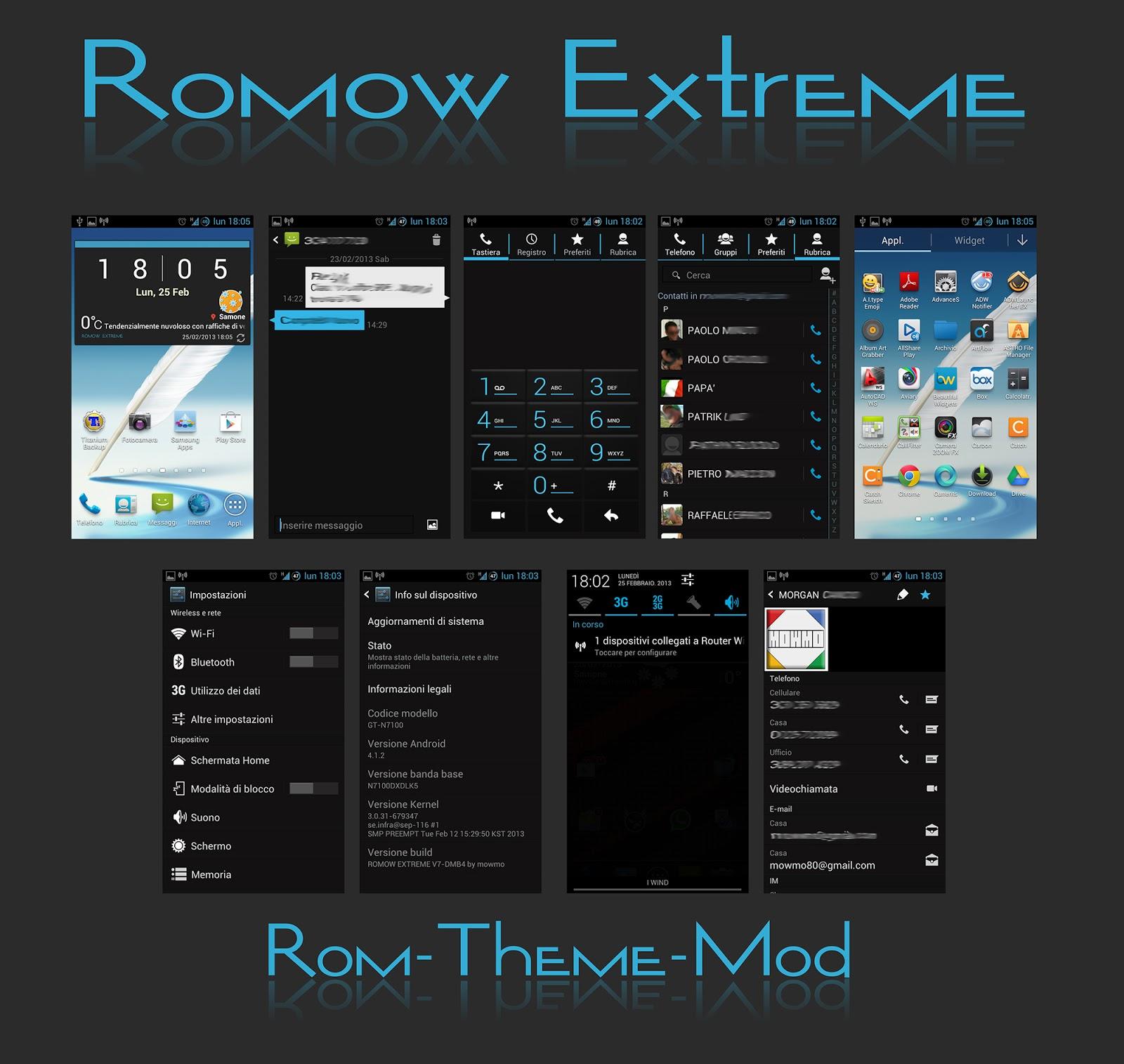 Galaxy Note 2: Romow Extreme V10 DMC1