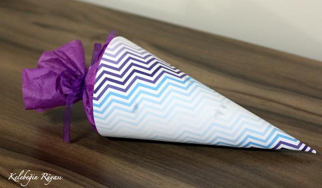 kağıttan külah şekerlik