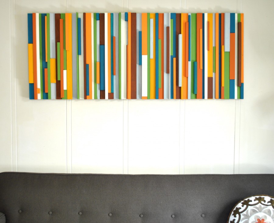 creatively christy diy wood scrap wall art